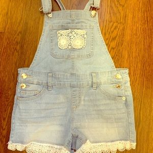 Girls Justice Shorts Overall